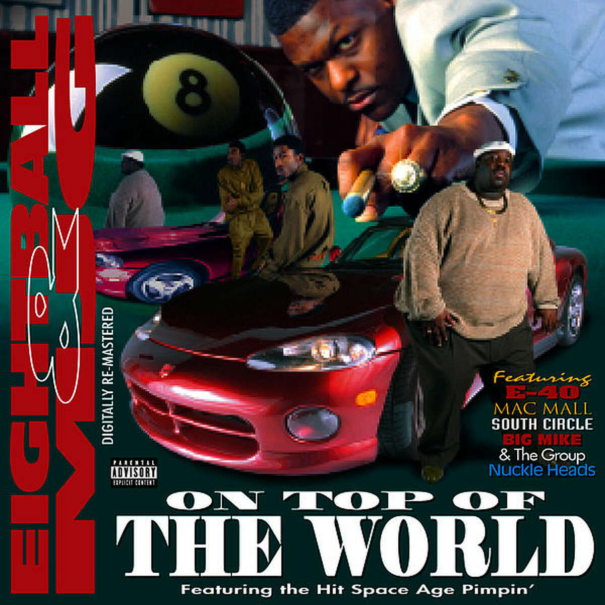 Eightball & MJG- On Top Of The World (1995). Suave House Records, Houston, Texas.