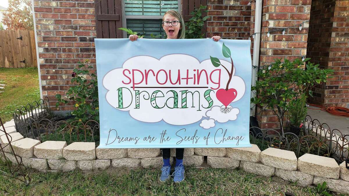 The Sprout Dreams logo was intended not only for plants but for anything else Fish decides to include in her burgeoning brand.