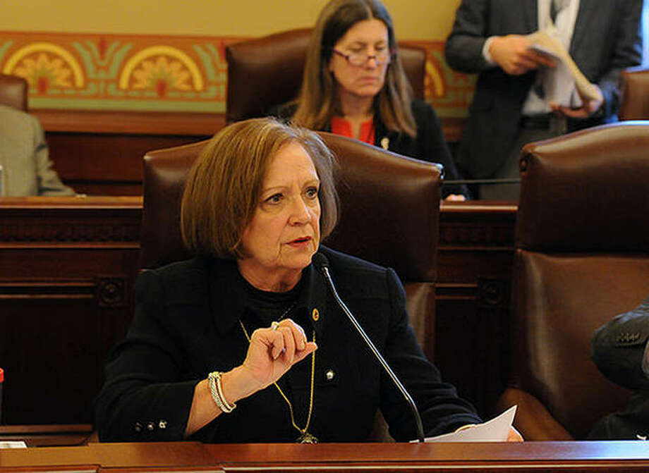 State Rep. Norine Hammond speaks during a House session. Photo: Provided