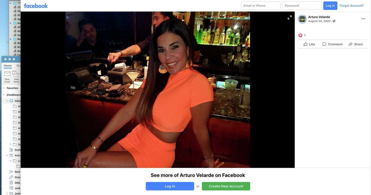 Lleanna Elizondo, ex-wife of Carlos Uresti, the imprisoned former state senator, is suing Capisce Gentlemen's Club and D'Angelo's Italian Grill alleging the owner is using a photo of her without her permission on his Facebook page to promote the businesses. She had posted the photo on her own Facebook page.
