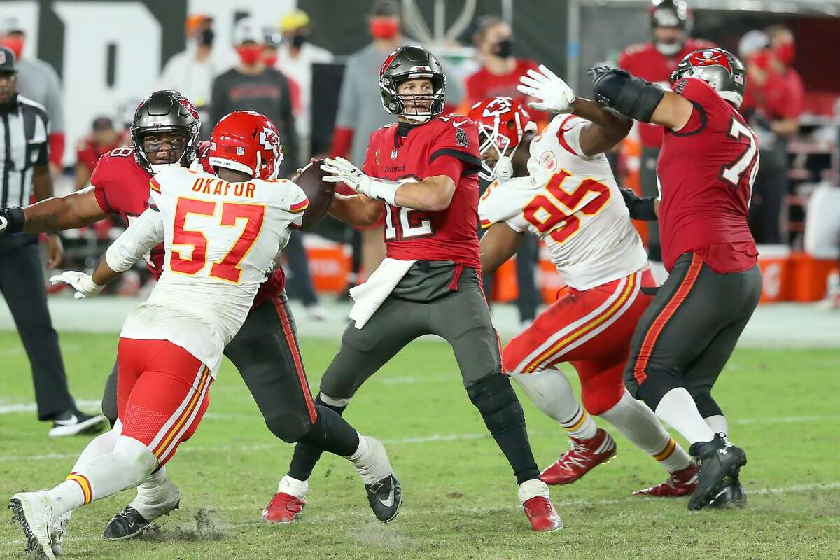 Pressuring Tom Brady in the pocket will be pivotal for the Chiefs' defense in the Super Bowl. Kansas City won the regular-season matchup against the Buccaneers in Tampa, also the site of Sunday's game.