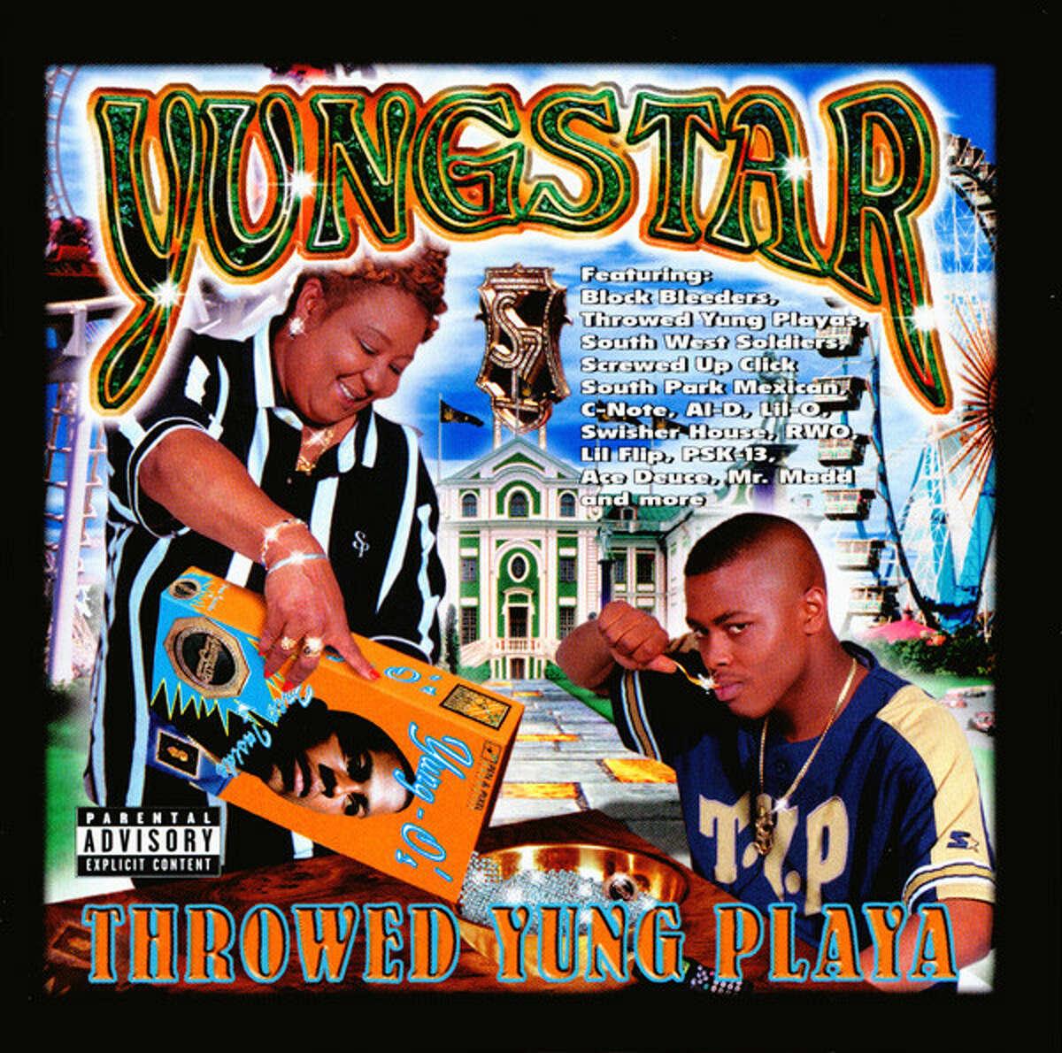 "Yungstar - ""Thrown Yung Playa.""(1999) Direct Profit Record, Houston, Texas."