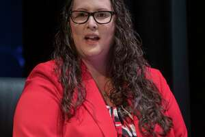 Angelica Ramsey, new MISD superintendent, speaks 02/05/2021 after the MISD school board unanimously approves the hire for a new superintendent. Tim Fischer/Reporter-Telegram