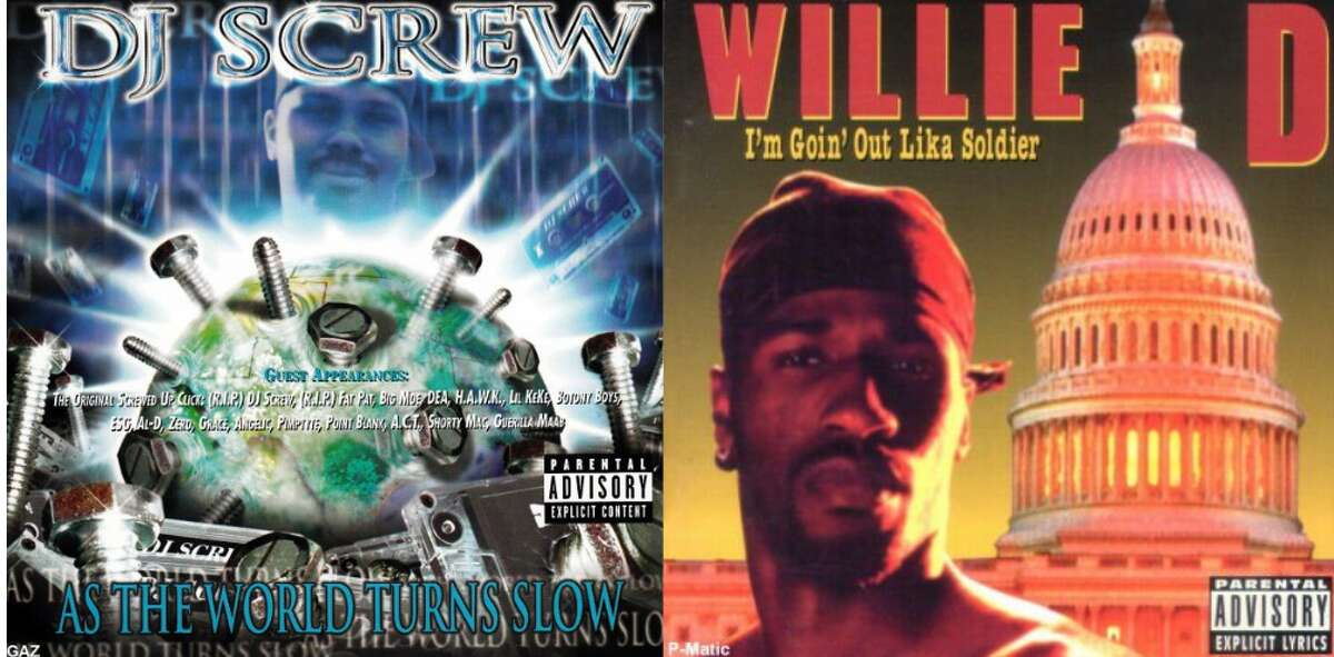Houston is home to some of the top Pen & Pixel album covers ever made. (DJ Screw's
