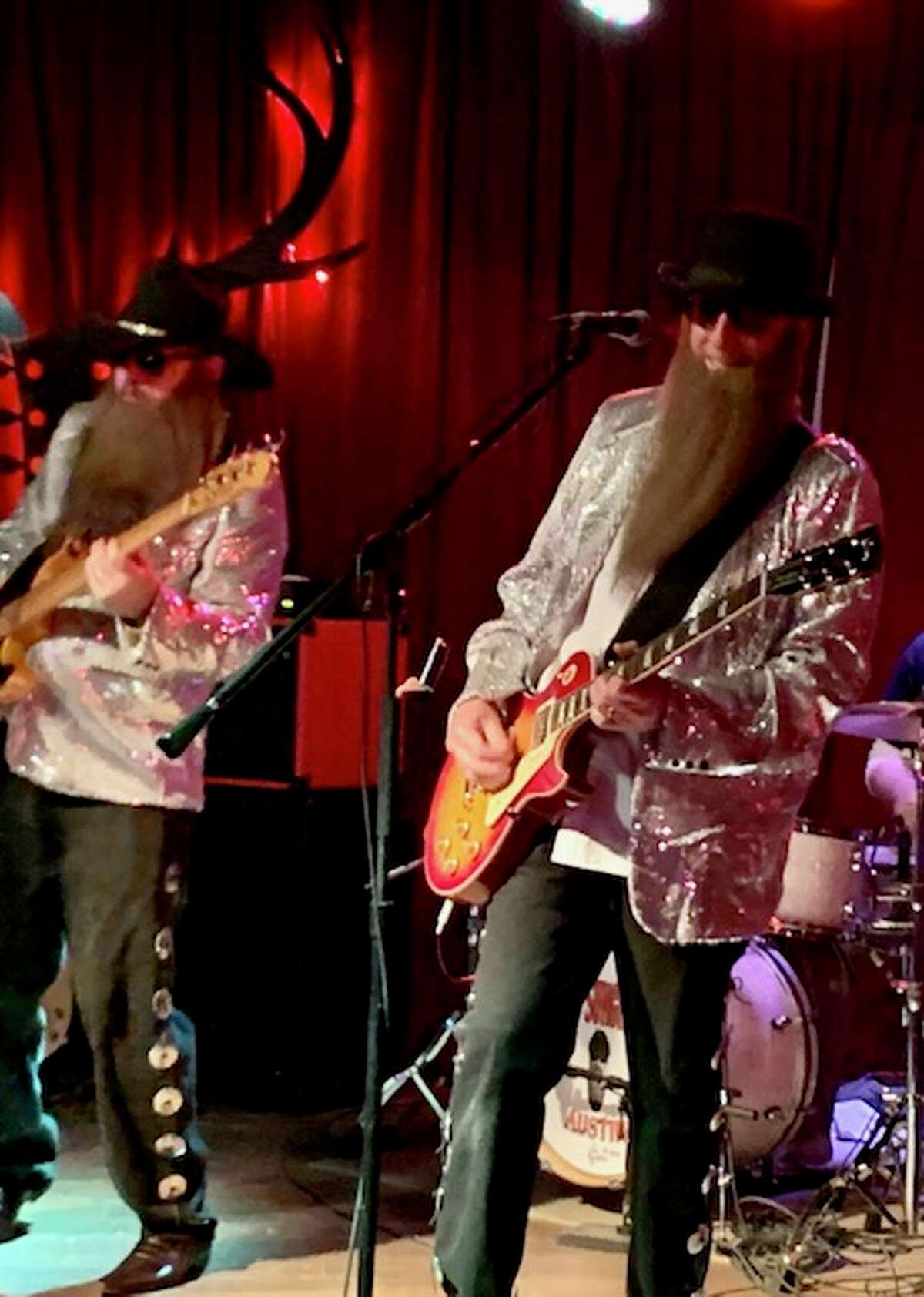 Cheap Sunglasses $40 to $110 8:30 p.m. February 26. A ZZ Top tribute band will perform with the signature moves and sounds that made the Texas duo famous. Sam's Burger Joint 330 East Grayson St