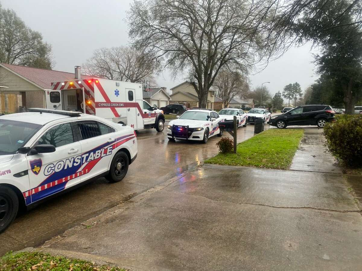Harris County Precinct 4 Constable Deputies investigated a carjacking Friday afternoon.