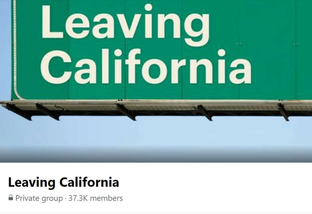 Leaving California Facebook group