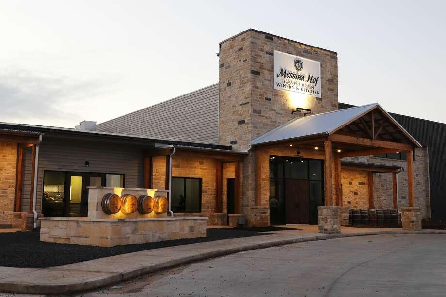 The Messina Hof Harvest Green Winery & Kitchen is open in Richmond. Photo: Messina Hof Wine Cellars