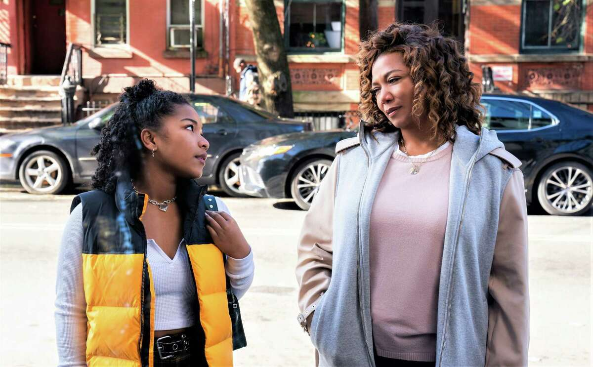 Laya DeLeon Hayes as Delilah tries to connect with her mom (Queen Latifah) in