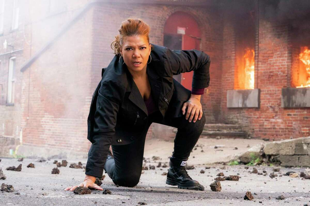 Queen Latifah stars as warm but tough Robyn McCall in