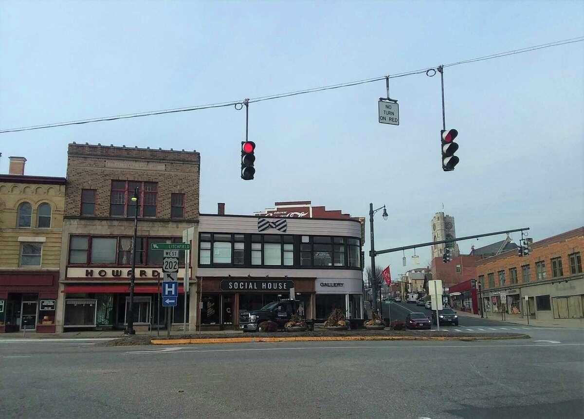 Downtown Torrington.