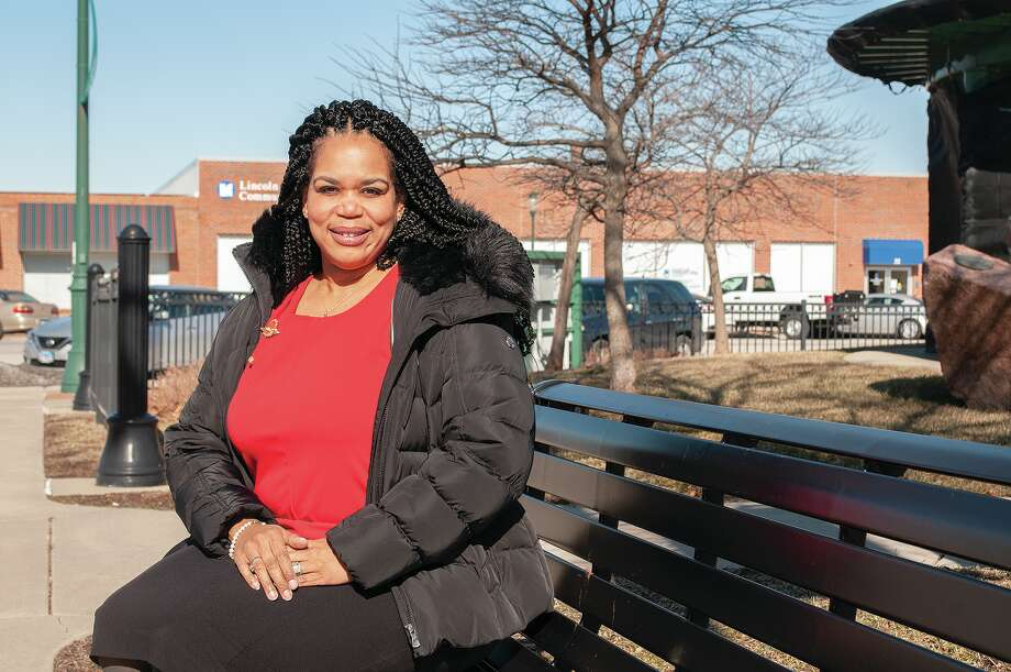 Trevelyn Florence Thomas of Florence Family Ministries is proud of the Jacksonville community and how it embraces Black History Month. Thomas is excited to see more Black people recognized for their contributions, both past and present, but also would love to see more courses offered in public schools that would teach more about Black history. Photo: Darren Iozia | Journal-Courier / Jacksonville Journal-Courier