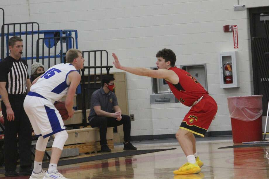 Ferris State's men started off the weekend with a 68-65 win over Grand Valley Photo: John Raffel