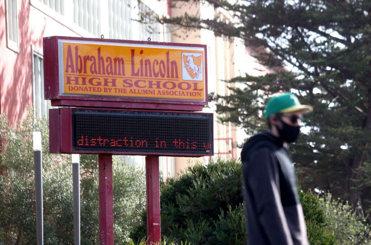 Abraham Lincoln High School is one of 42 public schools in San Francisco that will undergo a name change.