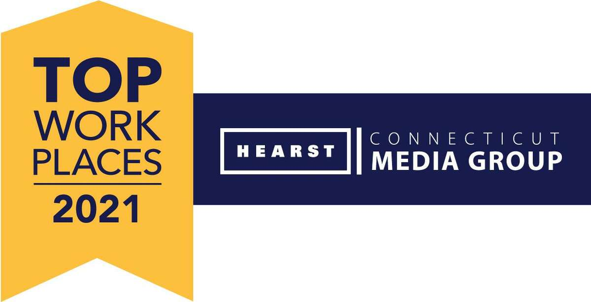 Logos for 2021 Hearst Connecticut Media Group Top Workplaces