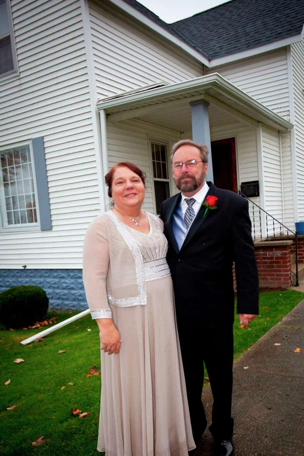 Ken and Karen Libby, then and now. (Courtesy photos)