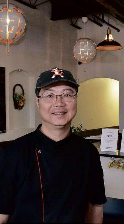Dr. Joe at Yun Cuisine, located at 9902 McPherson Road Unit #13.