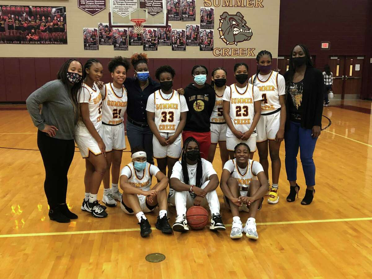 The Summer Creek Lady Bulldogs won their second straight district title in a row Friday night defeating Kingwood.