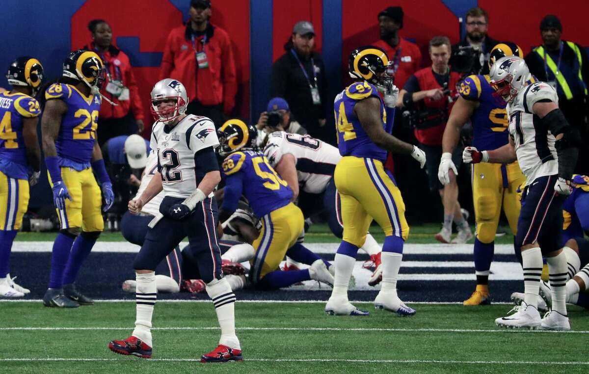 Brady has beaten the Rams twice in the Super Bowl - his first title in New Orleans and his most recent in Atlanta.