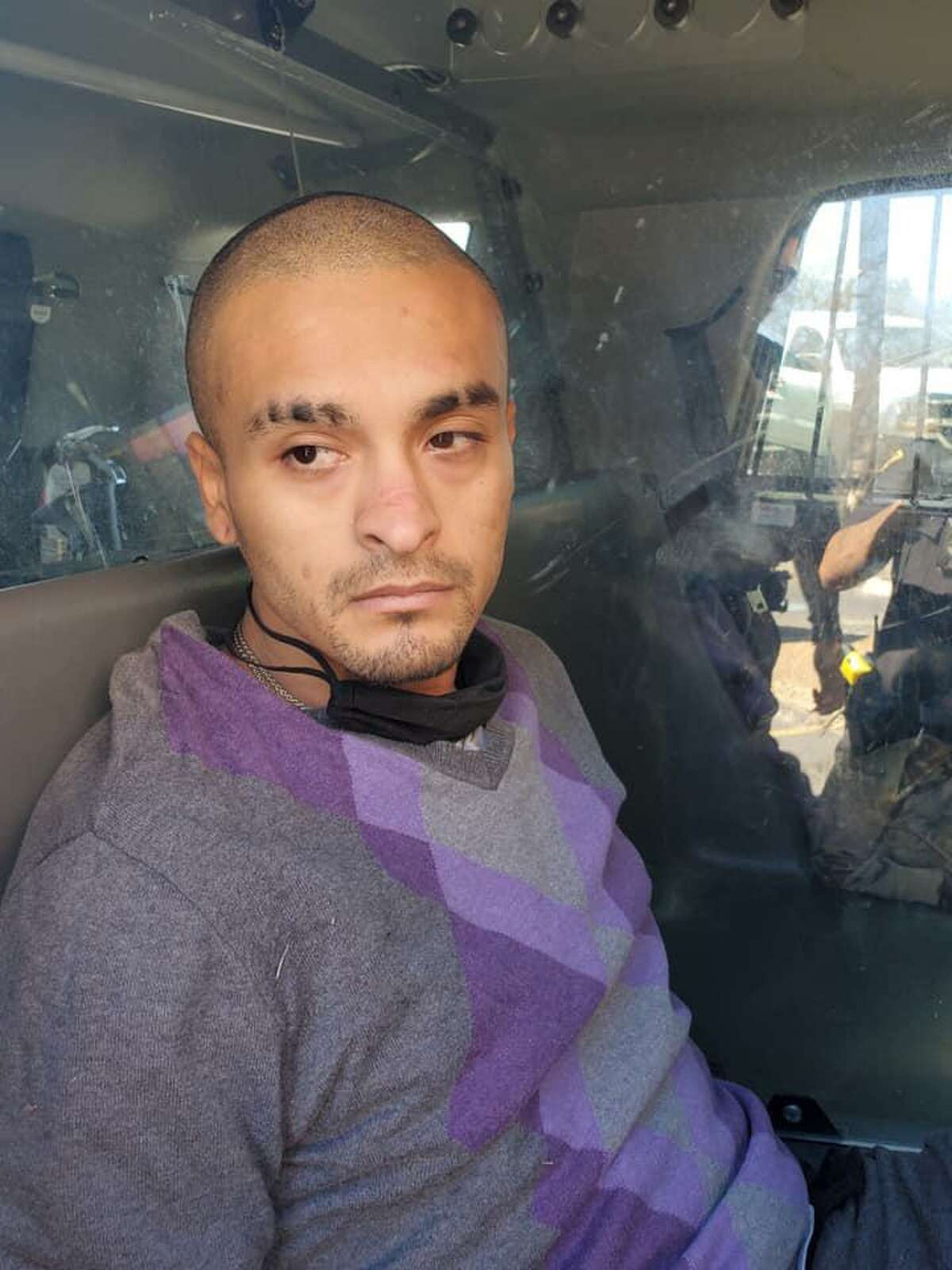 Wilfredo Montemayor, 27, was brought into custody Saturday morning. He is a suspect in the shooting of Balcones Heights Sgt. Joe Sepulveda, who was injured Wednesday.