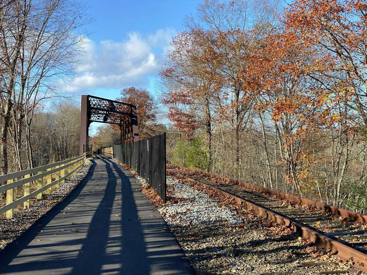 The Maybrook trailway in New York