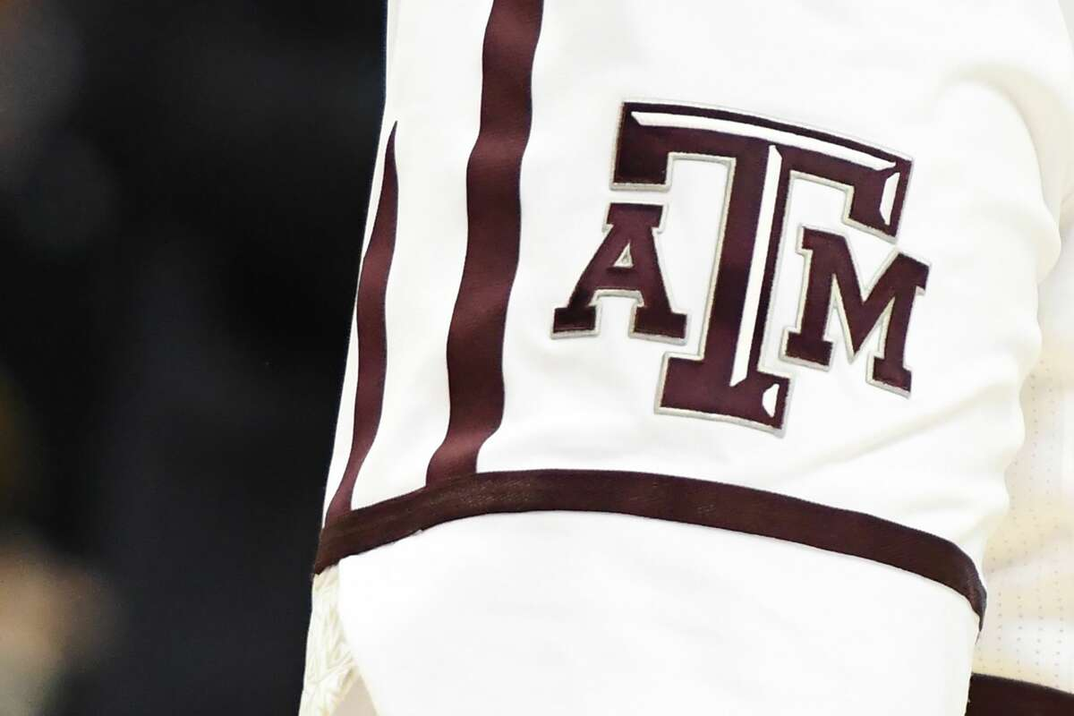CHARLOTTE, NC - MARCH 16: The Texas A&M Aggies logo on a pair of shorts during the first round of the 2018 NCAA Men's Basketball Tournament against the Providence Friars at the Spectrum Center on March 16, 2018 in Charlotte, North Carolina. The Aggies won 73-69. (Photo by Mitchell Layton/Getty Images)