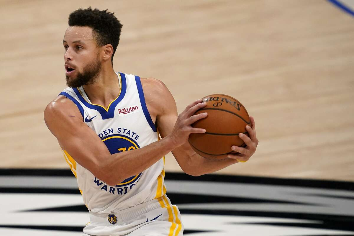 Stephen Curry and the Warriors visit San Antonio at 5:30 p.m. Monday (NBCSBA/95.7).