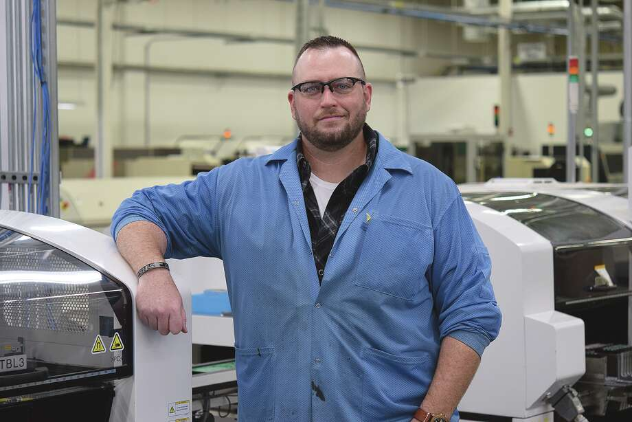 Rich Klinker is operations manager at CCK Automations. Photo: David Blanchette | Journal-Courier
