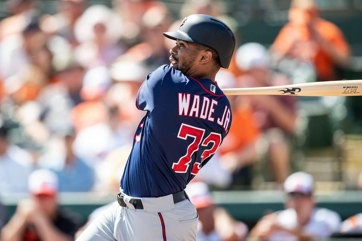LaMonte Wade Jr. spent parts of the past two seasons with the Twins, batting .211 in 95 at-bats.