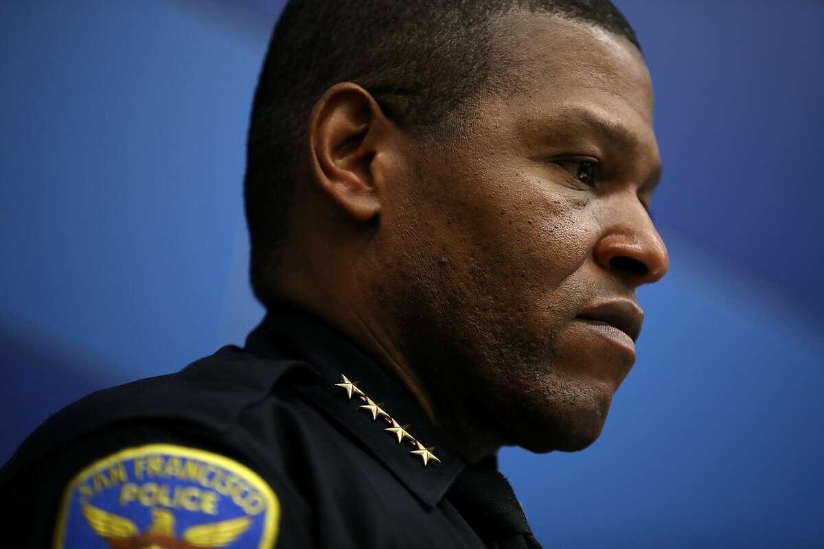 A file photo of San Francisco Police Chief Bill Scott.