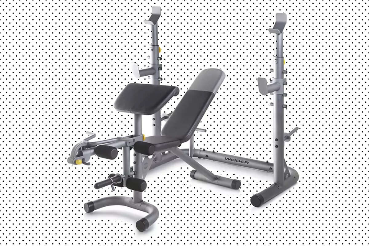 Weider Olympic Workout Bench with Squat Rack, $199.99 at Kohl's