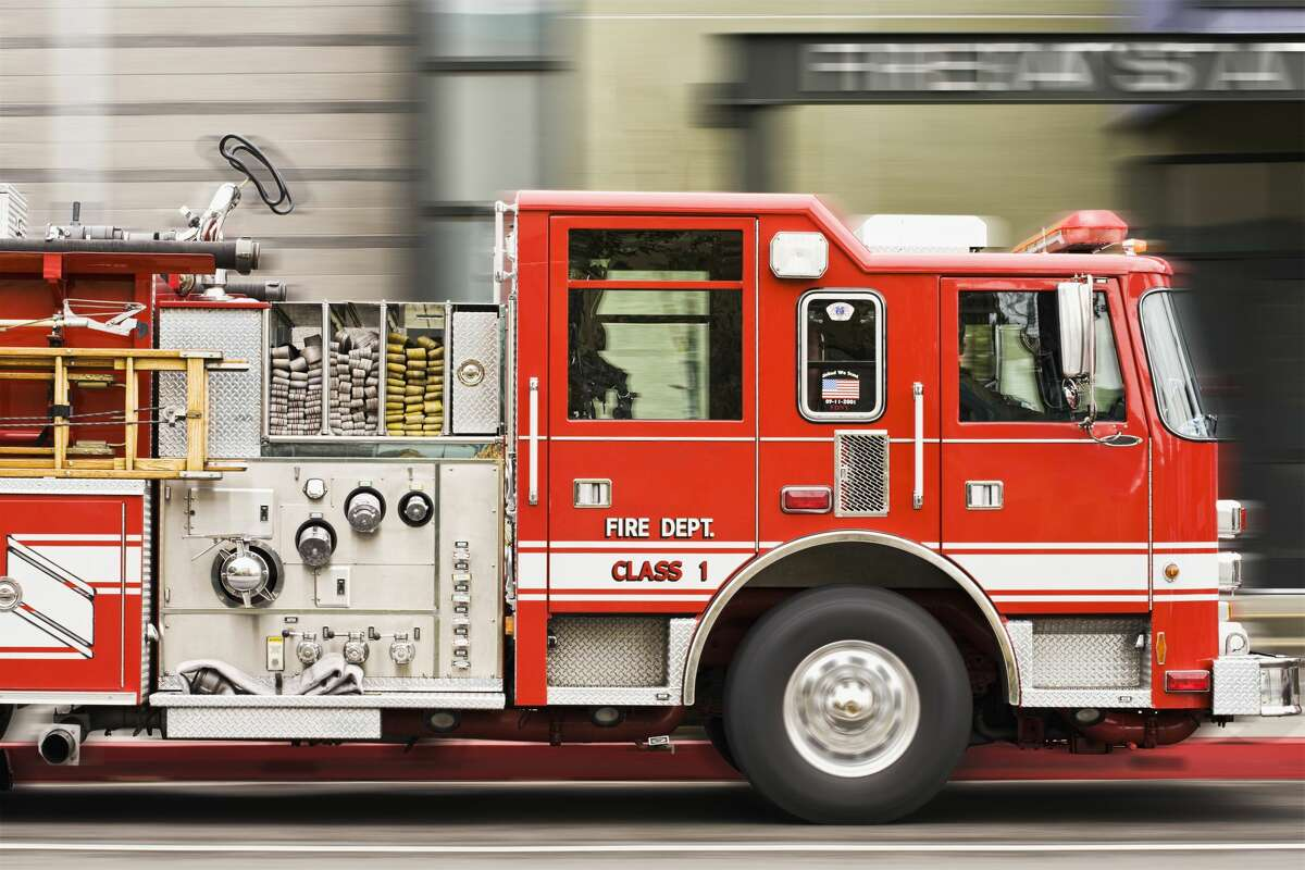 San Francisco firefighters responded to a house blaze in Sunnyside on Monday evening, officials said.