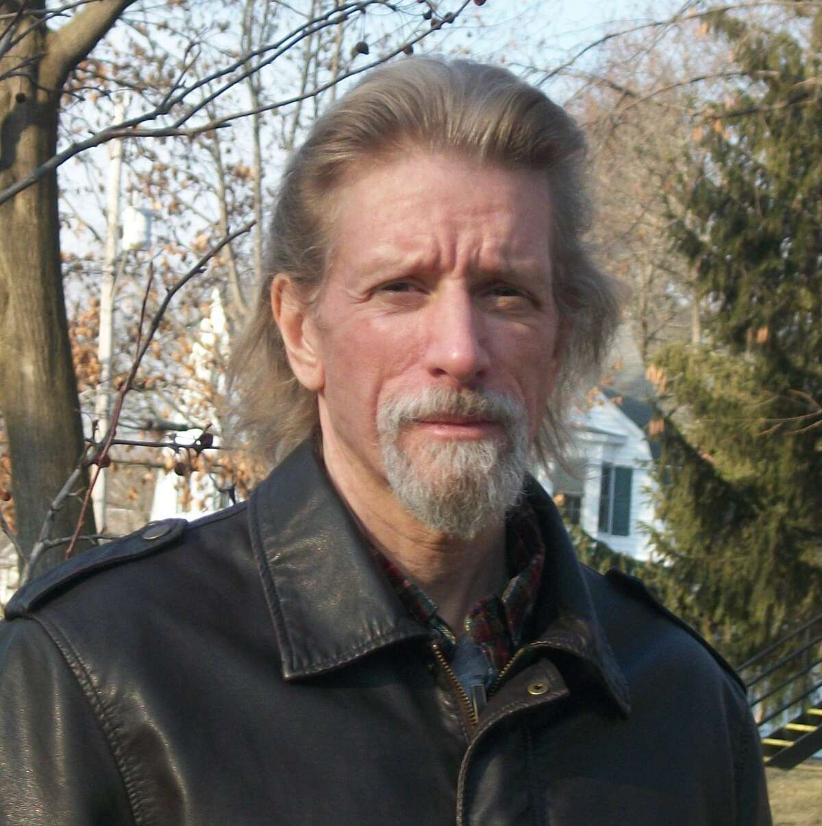 Author and retired Schenectady English teacher Greg Wolos.
