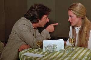 """Dustin Hoffman makes a point to Meryl Streep in """"Kramer vs. Kramer."""""""