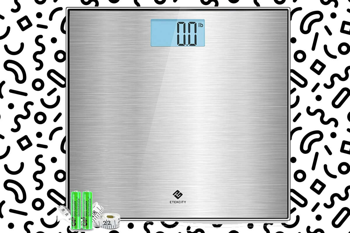 Sleek metal scale from Etekcity for $17.49 at Amazon.