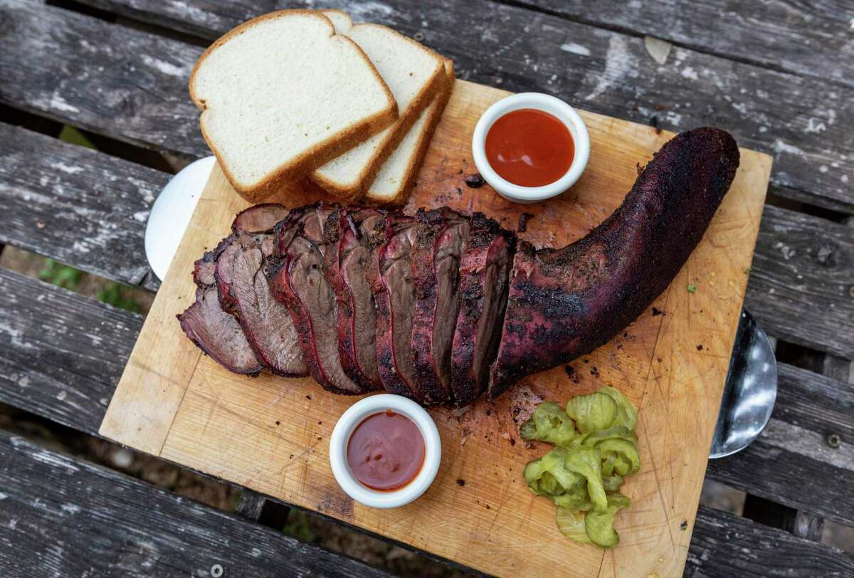 Brisket-Smoked Beef Tongue (Lengua)