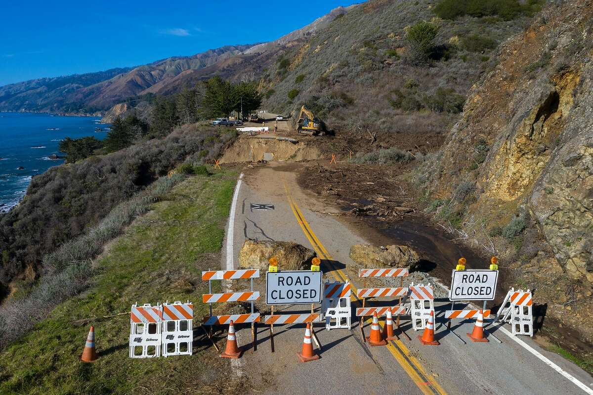Caltrans says crews will work seven days a week to repair the collapsed section of Highway 1 near Big Sur.