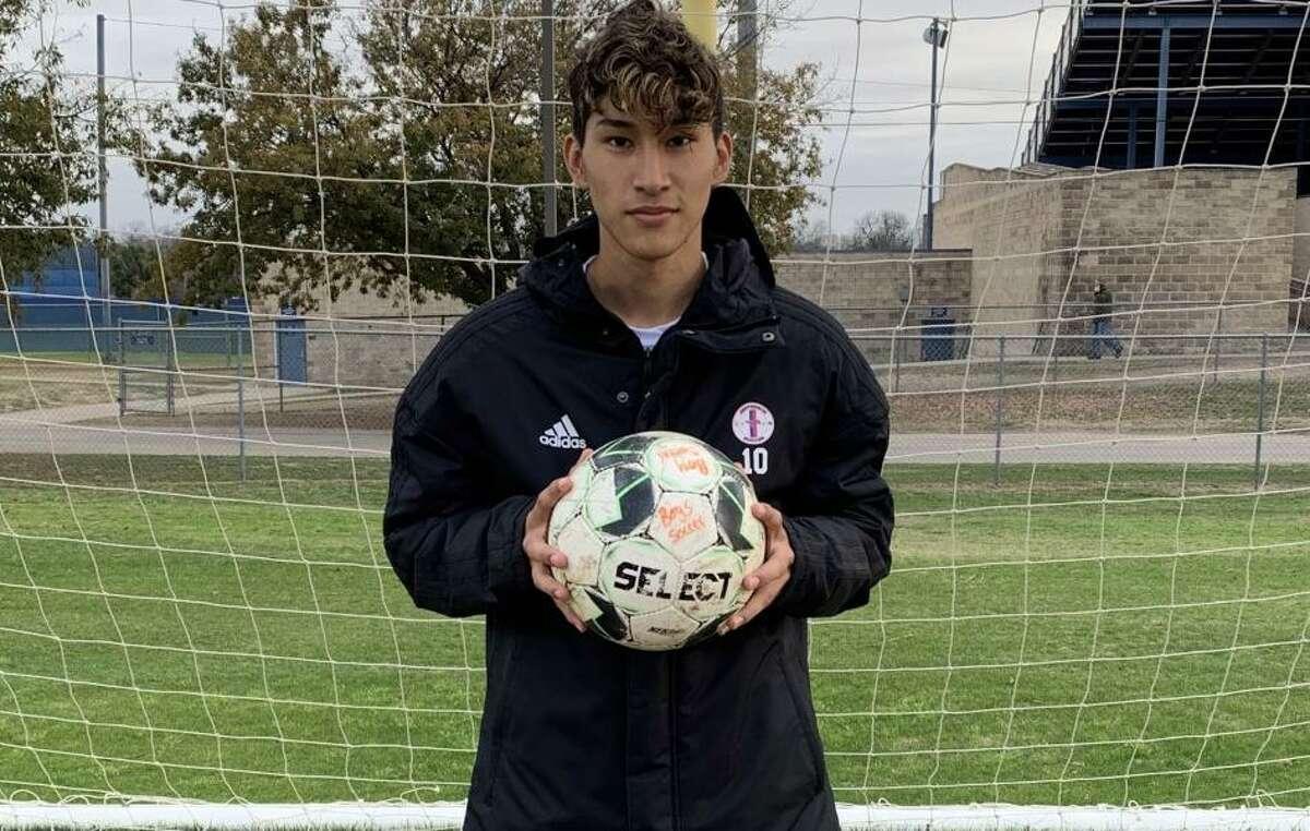 Christian Perez is a senior forward for Jefferson boys soccer.