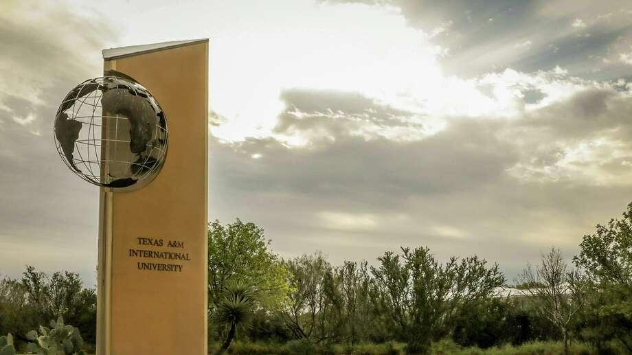 Photo of TAMIU's entrance Photo: /