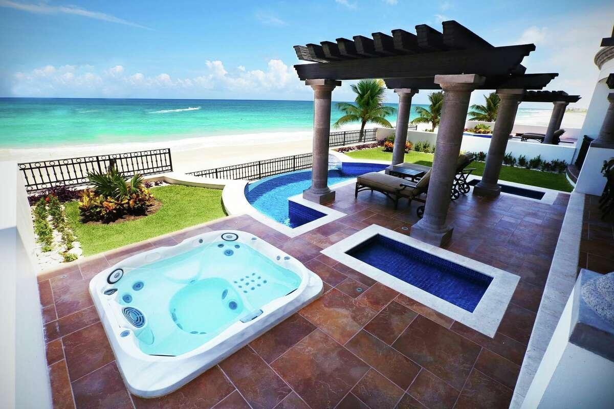 Waterfront views at Grand Residences Riviera Cancun.