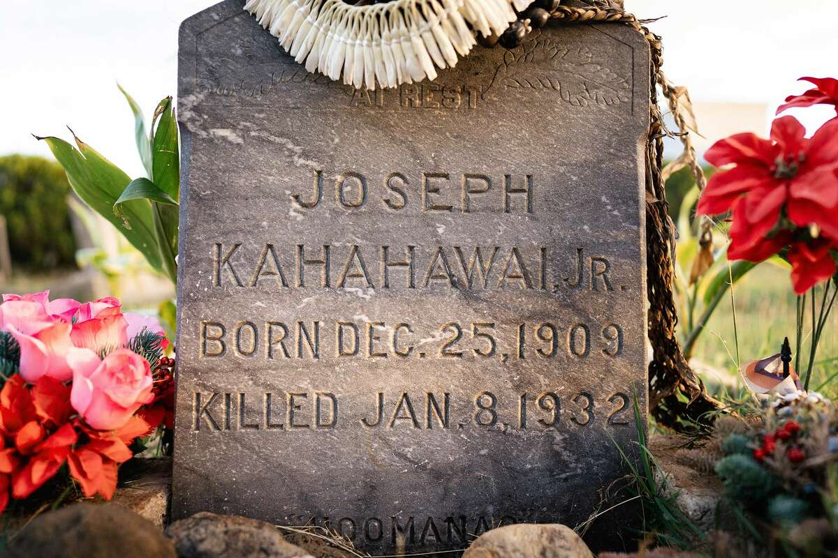 Killed, not died: The grave belonging to Joseph