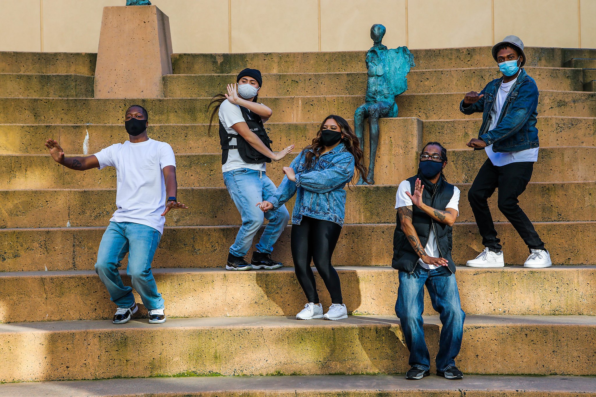 www.sfchronicle.com: 'A lifesaving thing': Hip-hop dance groups find new purpose amid pandemic