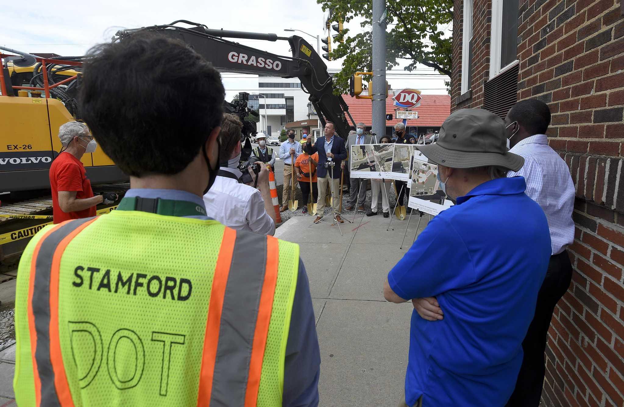 Stamford To Turn Downtown Block Into Pedestrian Promenade