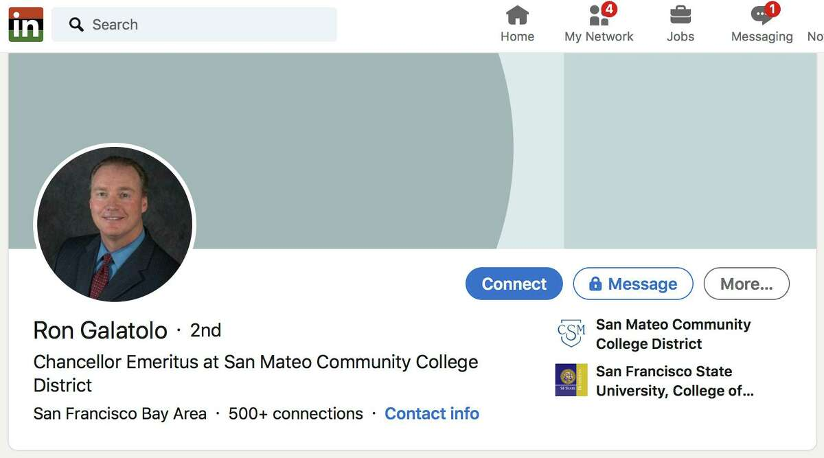 The San Mateo Community College Board has rescinded its $1.6 million contract with its chancellor emeritus, Ron Galatolo, citing evidence that he engaged in secret unethical activities during his 20-year tenure as chancellor of the three-college district.