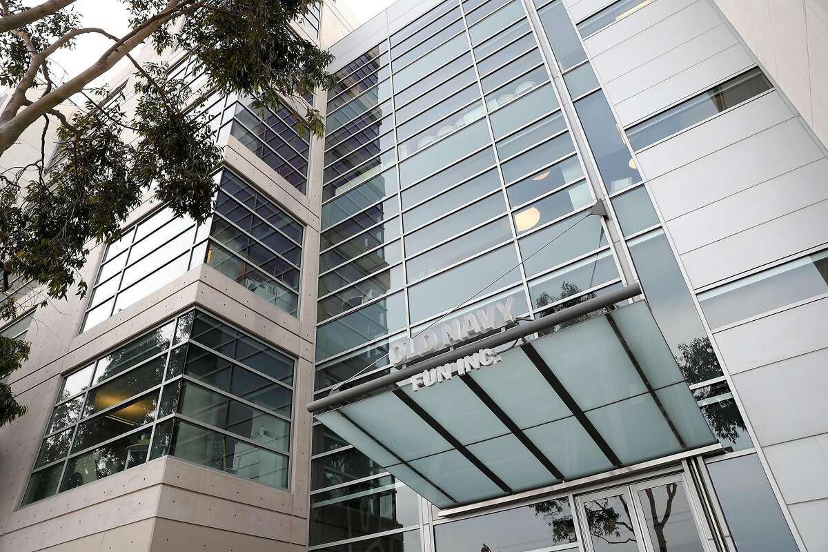 Old Navy headquarters at 550 Terry Francois Blvd. in San Francisco. Gap Inc. is moving its Old Navy employees into its older headquarters at 2 Folsom St.