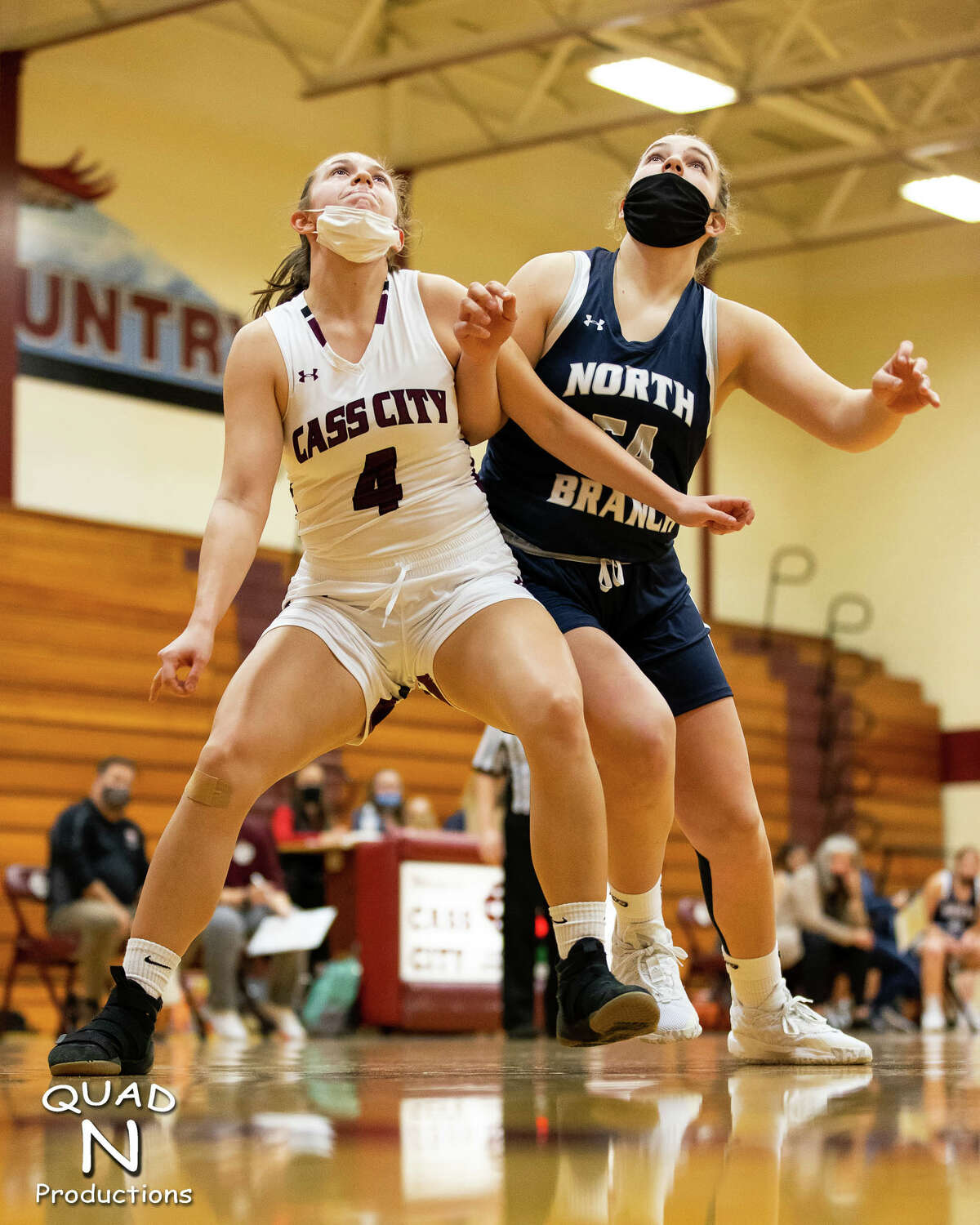 The Cass City girls basketball team opened the season at home on Monday night, falling to the North Branch Broncos, 54-49.