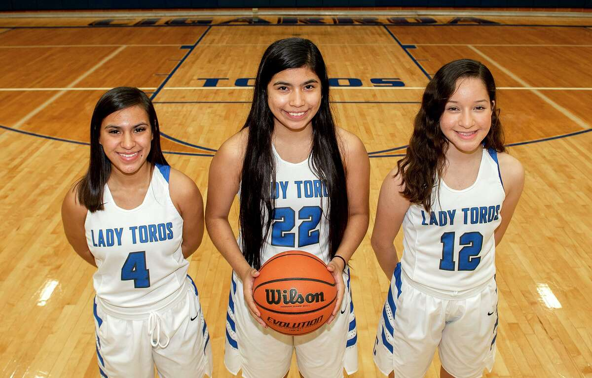 Emily Lara, Diane Lara and Emily Loredo are leading Cigarroa into a 5:30 p.m. matchup with Corpus Christi Veterans Memorial Thursday in Alice to open the playoffs.