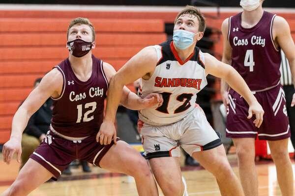 The Sandusky Redskins handed the Cass City boys basketball team a heartbreaking, last-second loss on Monday night. Sandusky won, 47-45, in the season opener for both teams.