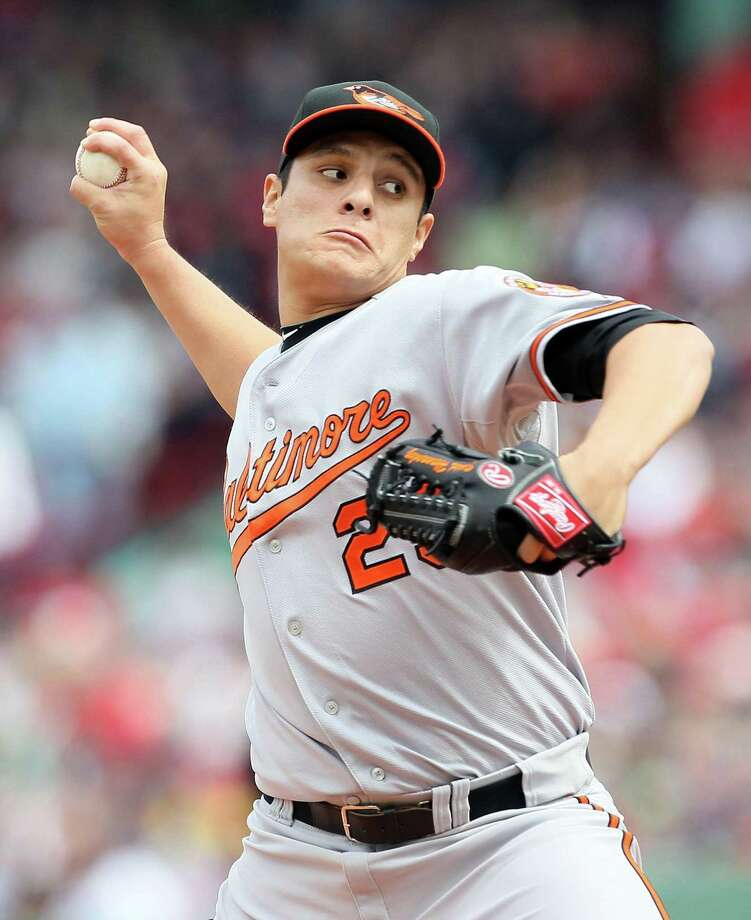 David Hernandez is set to be the Tecolotes' closer this season. Photo: Jim Rogash /Getty Images File / 2010 Getty Images