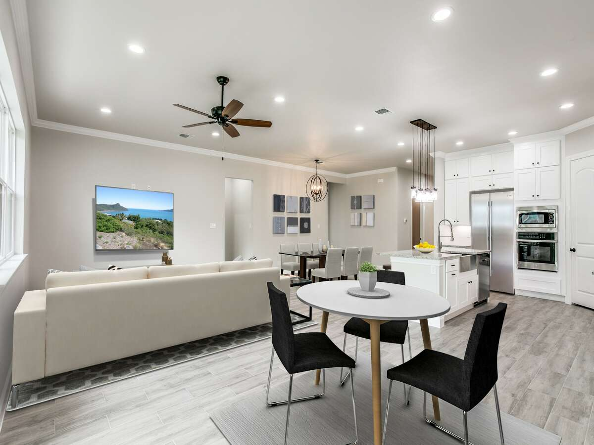 The homes have 10-foot ceilings on the first floor with 8-foot doors. Prices start at $450,000.